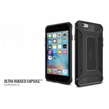 Original Spigen Rugged Armor Capsule Case for Apple iPhone 6S/6