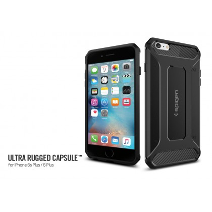 "Original Spigen Rugged Capsule Case for Apple iPhone 6S Plus/6 Plus (5.5"")"
