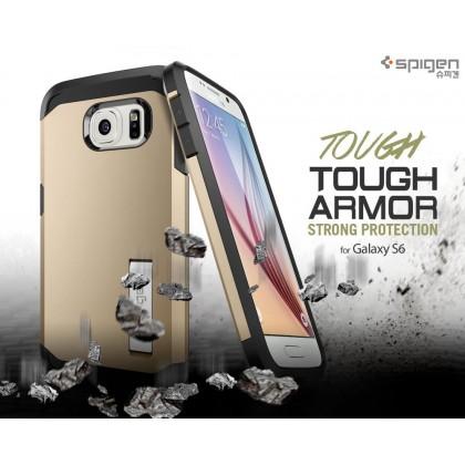 Original Spigen Tough Armor Case for Samsung Galaxy S6