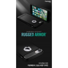 Original Spigen SGP Rugged Armor Case (Black) for Apple iPhone 8 / 7