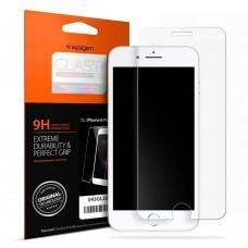 Original Spigen Glas.tR Slim Premium Tempered Glass Screen Protector for Apple iPhone 8 / 7 / 8 Plus / 7 Plus