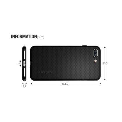 Original Spigen Liquid Air Armor Case for Apple iPhone 8 Plus / 7 Plus