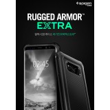 Original Spigen SGP Rugged Armor Extra Case (Black) Samsung Galaxy S8 Plus