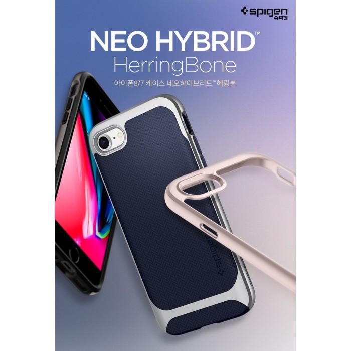 new product 7c2be 2e0d6 Original Spigen Neo Hybrid Herringbone Case for Apple iPhone 8 ...