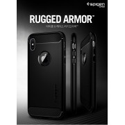 Original Spigen Rugged Armor Case for Apple iPhone X
