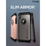 Original Spigen Slim Armor Case for Apple iPhone XS / X