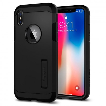 Original Spigen Tough Armor Case for Apple iPhone XS / X