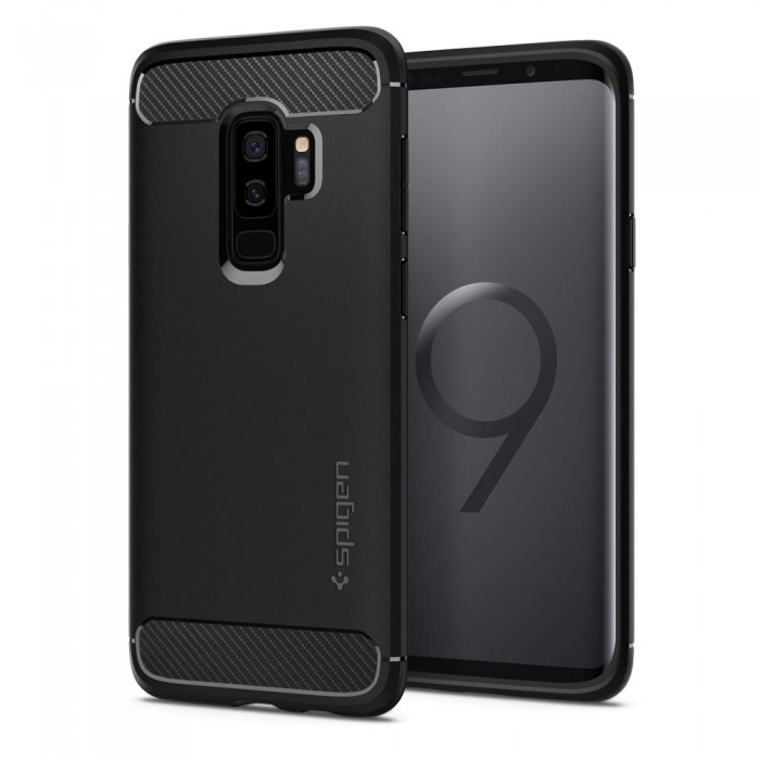original spigen rugged armor case for samsung galaxy s9. Black Bedroom Furniture Sets. Home Design Ideas