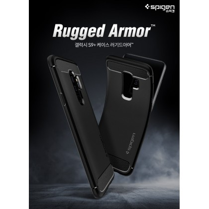 Original Spigen Rugged Armor Case for Samsung Galaxy S9