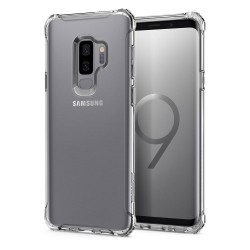 Original Spigen Rugged Crystal Clear Case for Samsung Galaxy S9