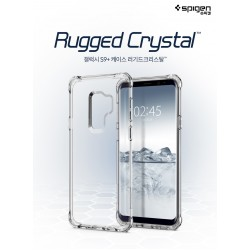 Original Spigen Rugged Crystal Clear Case for Samsung Galaxy S9 / S9 Plus