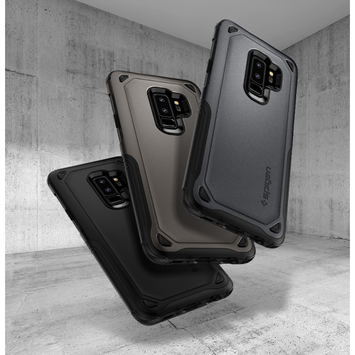 best website a9220 10abd Original Spigen Hybrid Armor Case for Samsung Galaxy S9 & S9 Plus