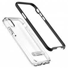 Original Spigen Crystal Hybrid Kickstand Case for Apple iPhone X