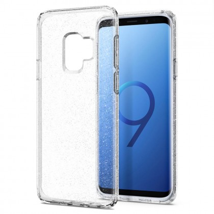 Original Spigen Liquid Crystal Glitter Case for Samsung Galaxy S9 Plus