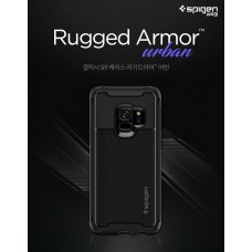 Original Spigen Rugged Armor Urban Military Grade Case for Samsung Galaxy S9 / S9 Plus