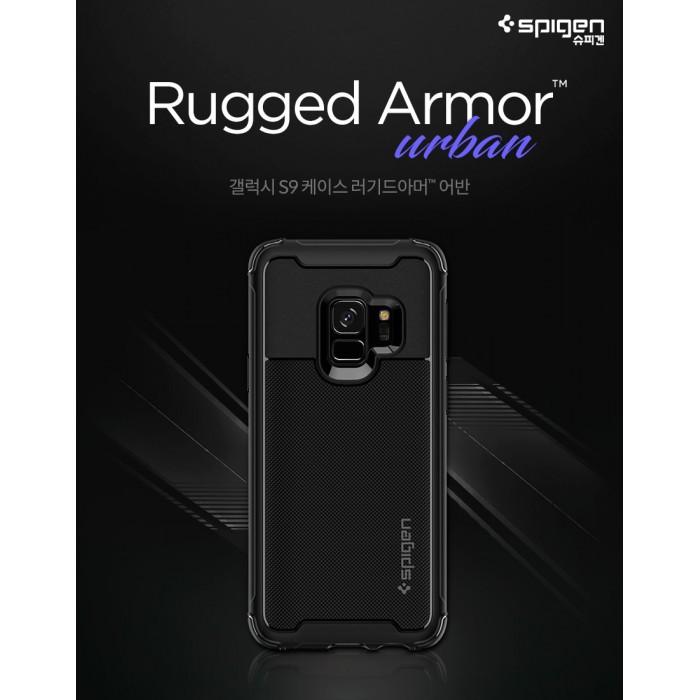 the best attitude c4128 34d64 Original Spigen Rugged Armor Urban Case for Samsung Galaxy S9 & S9 Plus