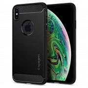 Original Spigen Rugged Armor Military Case for Apple iPhone XS Max