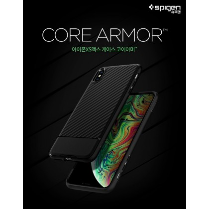 Original Spigen Core Armor Military Case for Apple iPhone XS Max