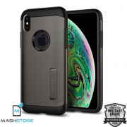 Original Spigen Slim Armor Military Kickstand Case for Apple iPhone XS MAX