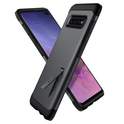 Original Spigen Tough Armor Kickstand Case for Samsung Galaxy S10