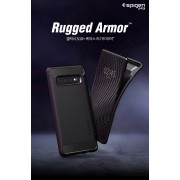 Original Spigen Rugged Armor Military Case for Samsung Galaxy S10 PLUS