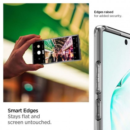 Original Spigen Ultra Hybrid Clear Case for Samsung Galaxy Note 10 Plus