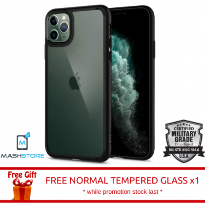 Original Spigen Ultra Hybrid Clear Case for Apple iPhone 11 / 11 Pro / 11 Pro Max