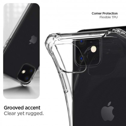 Original Spigen Rugged Crystal Clear Case Apple iPhone 11 / 11 Pro / 11 Pro Max