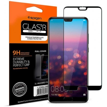 Original Spigen Glas.tR Slim Premium Tempered Glass for Huawei Mate 20 Pro