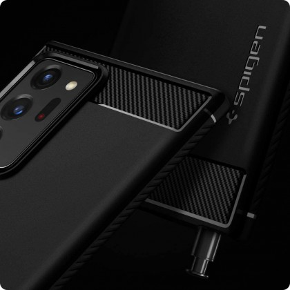 Original SPIGEN Rugged Armor Case Samsung Galaxy Note 20 Ultra / Note 20