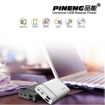 Original PINENG PN-985 10000mAh Compact Power Bank